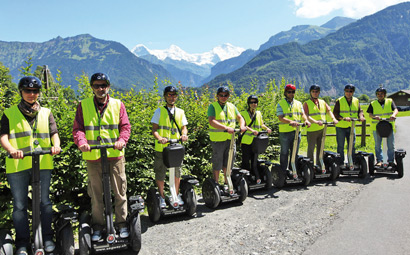 Segway Tour Interlaken «Lake-to-Lake»