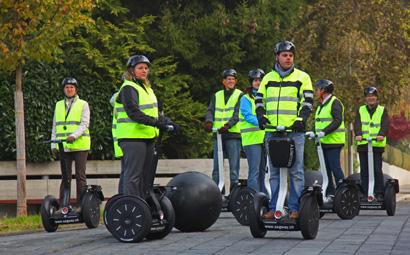 Segway Tour Luzern «Citytrip Winter»