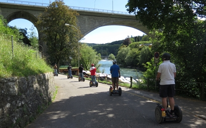 Segway Tour Baden-Wettingen «Along the Limmat»