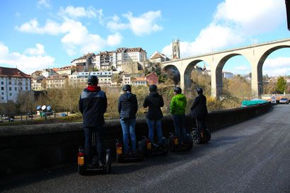 Segway Tour Biel «Signs of water»